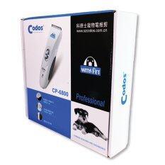 ราคา Codos ชุดอุปกรณ์ตัดขนสุนัข ปัตตาเลี่ยนตัดขนหมา แมว ไร้สาย Kuku รุ่น Cp 6800 New เป็นต้นฉบับ