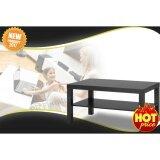 Coffee Table โต๊ะ โต๊ะกลาง โต๊ะหน้าโซฟา วางหน้าโซฟา โต๊ะรับแขก โต๊ะกาแฟ รุ่น Lack สีดำ ขนาด90X55X45ซม ไทย