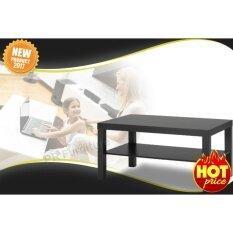 ทบทวน Coffee Table โต๊ะ โต๊ะกลาง โต๊ะหน้าโซฟา วางหน้าโซฟา โต๊ะรับแขก โต๊ะกาแฟ รุ่น Lack สีดำ ขนาด90X55X45ซม