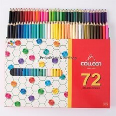 Colleen ดินสอสีไม้ คลอรีน 1 หัว 72 สี รุ่น775.