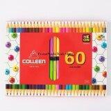 โปรโมชั่น Colleen ดินสอสีไม้ คลอรีน 2 หัว 30แท่ง 60 สี รุ่น787 สีธรรมดา นีออน สะท้อนแสง ใน กรุงเทพมหานคร