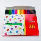 ราคา สีไม้ Colleen คอลลีน 36 สี 36 แท่ง รุ่น 775 Colleen เป็นต้นฉบับ