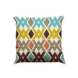ซื้อ Color Geometric Lines Cotton Linen Throw Pillow Case Cushion Cover Home Decor A Intl ออนไลน์ ถูก