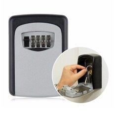 ส่วนลด Combination Lock Safe House Keys Organizer Security Keyed Door Lock With 4 Digit Combination Password Zinc Alloy Secret Safe Intl Unbranded Generic