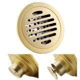 ขาย Connect ตะแกรงดักกลิ่นกลม ทองเหลือง รุ่นกันกลิ่น กันแมลง 100 Floordrain กลม Gold Connect ถูก