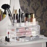 ความคิดเห็น Cosmetic Makeup Organizer กล่องเก็บเครื่องสำอาง กล่องจัดระเบียบเครื่องสำอาง เครื่องประดับ ชั้นวางเครื่องสำอางอเนกประสงค์ ช่องเก็บเยอะ มีลิ้นชัก จุของได้มาก และเป็นระเบียบ