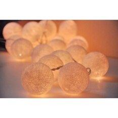ขาย โคมไฟระย้า Cotton Ball สำหรับตกแต่งห้องนอน งานปาตี้ หรือประดับร้านหลากสีสันสวยงาม ออนไลน์
