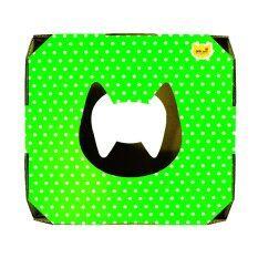 Cpd Ideasบ้านแมวCat S Magical Box Green Purple Polka Dot ใน กรุงเทพมหานคร
