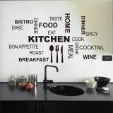 ราคา Creative Kitchen Cook Wall Stickers Home Decor Vinyl Decals Wallpaper Mural Art Posters Intl Zooyoo