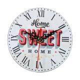 Creative Vintage Wooden Round Wall Clock Home Office Decoration 7 Intl ใน จีน