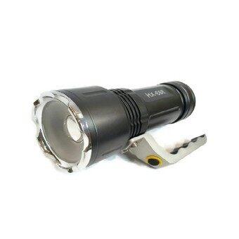 Cree High Power ไฟฉายชนิดสว่างมาก T6 LED / Super Zoom ชาร์จบ้าน ชาร์จรถ ได้