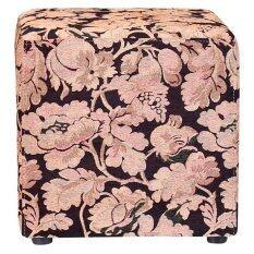 เก้าอี้ Cube Jas ลาย May Flower Gold 45X45X45 ซม ใน ไทย