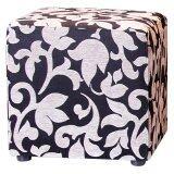 ทบทวน เก้าอี้ Cube รุ่น Stool ลาย Flower Silver ขนาด 45X45X45 ซม