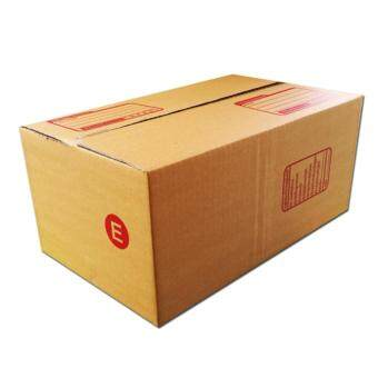 D Product กล่องไปรษณีย์ฝาชน Size E ขนาด 24 X 40 X 17 Cm กล่องพัสดุ เบอร์ E แพ็คละ 20 ใบ ใหม่ล่าสุด