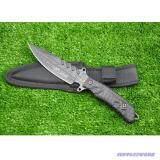 Dagger Knives No S015B มีดพก มีดเดินป่า Stainless Steel High Carbon ขนาดใบมีด 5 5 นิ้ว กรุงเทพมหานคร