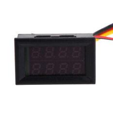 ซื้อ Dc 30V 10A Voltmeter Ammeter Red Led Panel Digital Amp Volt Gauge Meter จีน