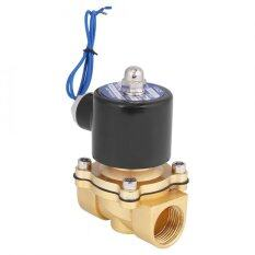 THB 409. DC12V R3/4 DN20 Normal Closed Zinc Alloy Electric Magnetic Solenoid Valve ...