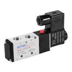 ขาย Dc24V 5 Way 2 Position 1 4 1 8 Solenoid Valve Electric Pneumatic Control เป็นต้นฉบับ
