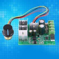 ขาย ซื้อ ออนไลน์ Dc6 60V 30A ดิจิตอลแสดง 100 ปรับไดรฟ์โมดูล Pwm Dc มอเตอร์ความเร็วควบคุม