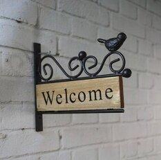 Decorative Hanging Welcome Brand Tan - Intl.