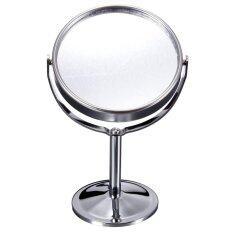 ซื้อ Desk Stand Portable Cosmetic Makeup Mirror Double Sided Normal And Magnifying Intl ใน จีน