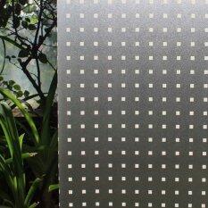 ขาย Dft Window Film No Glue 3D Static Decorative Privacy Stained Privacy Glass Film Pvc Waterproof Sticker P018W Size 44 3 X 150Cm Intl Dft เป็นต้นฉบับ