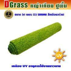 ซื้อ Dgrass หญ้าเทียม ปูพื้น ตกแต่งสวน ความสูง 2 5 ซม รุ่น 2 5 Savanna 2 5S เหลืองอร่าม ขนาด 2X1 เมตร ใน กรุงเทพมหานคร