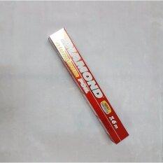 Diamond Aluminum Foil แผ่นอลูมิเนียมบาง อลูิเนียมฟอย ห่อเผาอาหาร รักษาความสด กว้าง30.4ซม ยาว7.6เมตร .