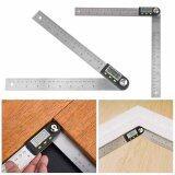 ขาย Digital 2 In 1 Angle Finder Guage Meter Ruler Protractor Goniometer 200Mm 360° Intl Unbranded Generic ออนไลน์