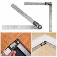 ราคา Digital 2 In 1 Angle Finder Guage Meter Ruler Protractor Goniometer 200Mm 360° Intl เป็นต้นฉบับ