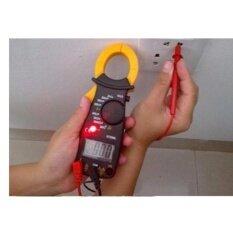 เครื่องวัดกระแสไฟฟ้าและแรงดัน  แคลมป์มิเตอร์ Digital Clamp Meter Dt-3266l.