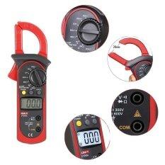 ซื้อ Digital Clamp Meter Uni T Ut200A Multimeter Data Hold Lcd Backlight Ac Dc Tester Intl ถูก จีน