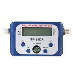 ซื้อ ค้นหาสัญญาณดาวเทียมจอดิจิตอลมิเตอร์แรงฟ้า Satfinder จาน Freesat ถูก ใน จีน