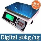 ซื้อ Digital Scale เครื่องชั่งดิจิตอลแบบตั้งโต๊ะ 30Kg 1G รุ่น Jza 30Kg