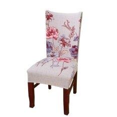 เก้าอี้รับประทานอาหาร Slipcovers Removable Universal ยืดเก้าอี้เคสกันกระแทกสำหรับห้องรับประทานอาหาร, โรงแรม, ห้องจัดเลี้ยง, พิธี - Intl.