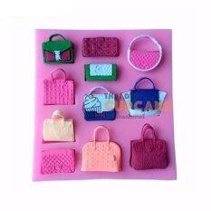 ราคา แม่พิมพ์ซิลิโคน Diy กระเป๋าถือ กระเป๋าผู้หญิง 11 แบบ แฟชั่น 3 มิติ ฟองดอง ตกแต่งเค้ก ถูก