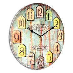 ขาย นาฬิกาผนังซ่อมนู่นขนาดใหญ่การตกแต่งบ้านห้องครัวเก่าคร่ำคร่าสนิมเรโทรเก๋ไก๋ Unbranded Generic เป็นต้นฉบับ