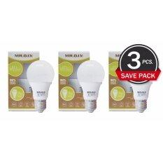 ขาย D I Y หลอดไฟ Led Bulb ขนาด 9W Daylight แสงสีขาว Pack 3 หลอด Mr D I Y ถูก