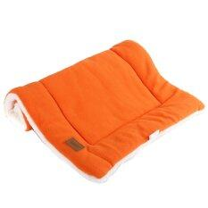 Dog Crate Mat Kennel Cage Pad Bed Size M Orange Unbranded Generic ถูก ใน จีน