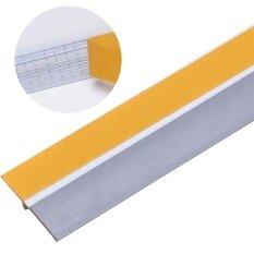 ซื้อ Door Weather Stripping 3 3Ft Self Adhesive Wind Dust Water Proof Door Sweep Door Bottom Seal Intl จีน