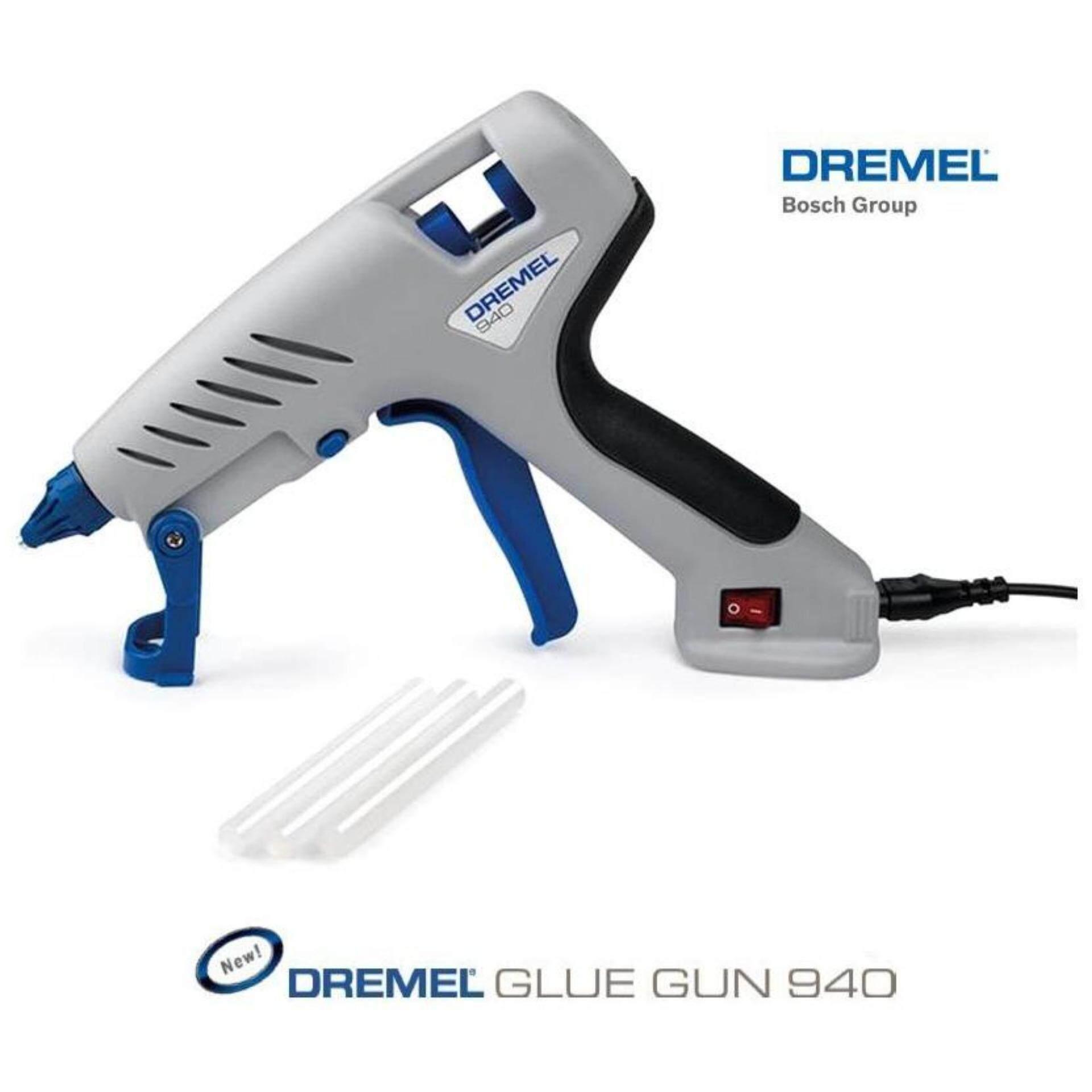 DREMEL ปืนกาว รุ่น GLUE GUN 940 - สีเทา