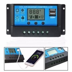 ราคา Dual Usb 12V 24V Solar Panels Charge Controller Regulator 10A Intl ใหม่ล่าสุด