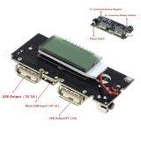 ราคา Dual Usb 5V 1A 2 1A Mobile 18650 Charger Pcb Power Module Accessories For Phone Diy New Led Lcd Module Board Intl ถูก