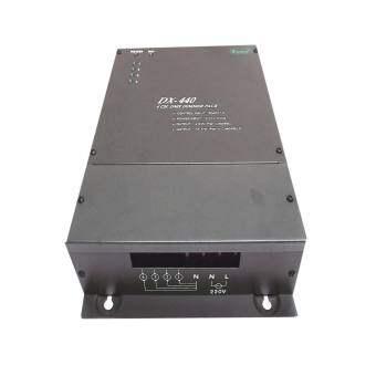 เครื่องควบคุมไฟ DMX DIMMER PACK DX440 Connection System DMX512 4 Channels 220 VAC 50 Hz.