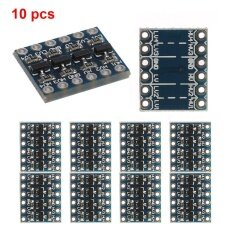 โปรโมชั่น Eachgo Set Of 10Pcs 4 Channel Iic I2C 5V To 3 3V Logic Electricity Level Converter Bi Directional Module Intl ถูก