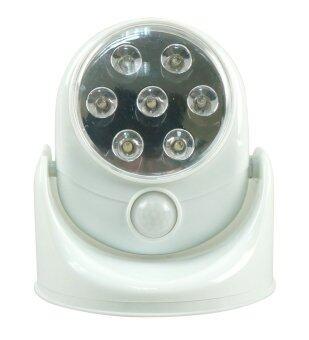 EagocraftLED Motion Sensor ไฟเซ็นเซอร์ 7 LED ตรวจจับการเคลื่อนไหวปรับระดับ180°