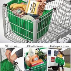 ส่วนลด Easbuy Grab Bag 1 Pack Reusable Ecofriendly Shopping Bag That Clips To Your Cart Unbranded Generic