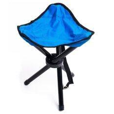ขาย ซื้อ เก้าอี้พับสามขาขนาดพกพา สีเขียว ใน กรุงเทพมหานคร