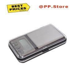 โปรโมชั่น เครื่องชั่งดิจิตอล เครื่องชั่งจิวเวอรี่แบบพกพา 200 กรัม สีดำ Digital Pocket Scale Series 01G 200G
