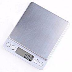 ขาย เครื่องชั่งดิจิตอลแบบพกพา Professional Digital Table Top Scale 2000Gx0 1G Silver Unbranded Generic ผู้ค้าส่ง